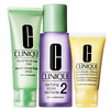 clinique sistema 3 passos pele 2 - mista para seca great skin ...