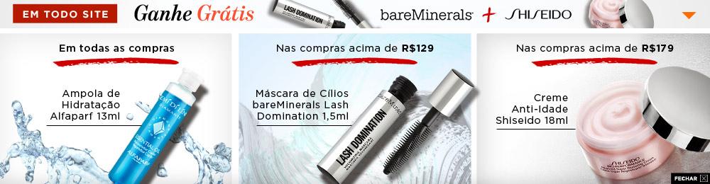 Shiseido + bareMinerals 0728