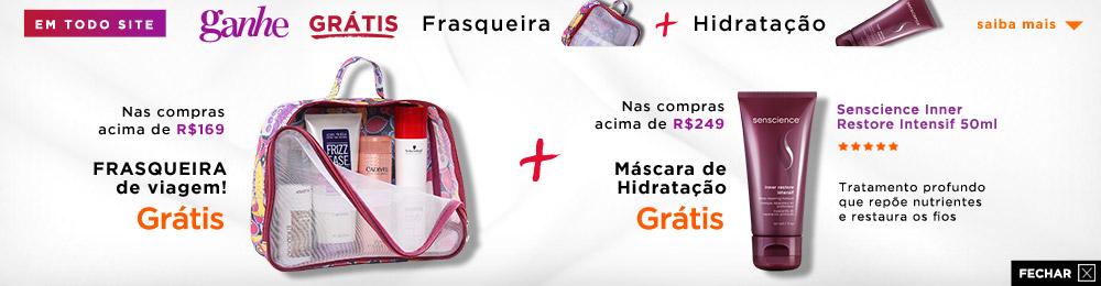Frasqueira Grátis + Inner 0630