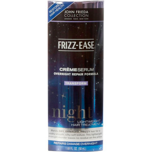 John Frieda Frizz-Ease Crème Serum Overnight Repair Formula - Serum 50ml