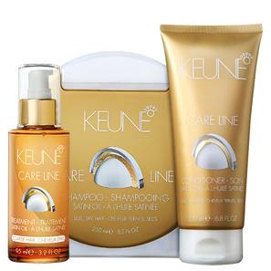 Keune Care Line Satin Oil Coarse Hair Kit - Keune