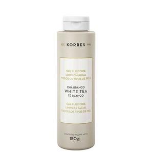 Gel Fluído De Limpeza Facial Korres Chá Branco 150g - Korres