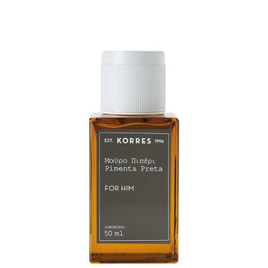 Eau De Cologne Korres Perfume Masculino Pimenta Preta 50ml - Korres