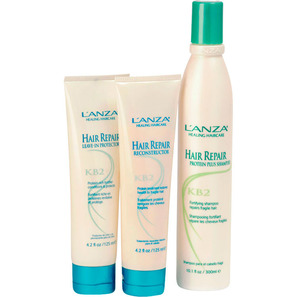 L'Anza Hair Repair Formula Kit (3 Produtos)