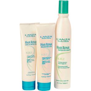 L'Anza Hair Repair Formula Kit (3 Produtos)
