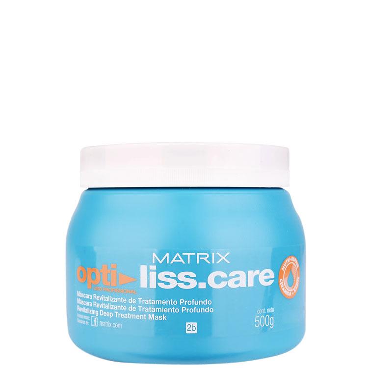 thumb Matrix Opti Liss.Care Máscara Revitalizante de Tratamento Profundo - Máscara de Tratamento 500g