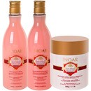 Inoar Natural Collection Rosa Imperial Hair Kit (3 Produtos)