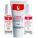 Mavala Mava White e Cuticle Remover e Cuticle Cream (3 Produtos)