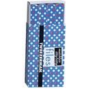 Tweezerman Matchbox Files Hot for Dots Azul - Mini Lixas de Unhas
